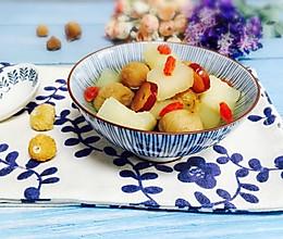 #甜粽VS咸粽,你是哪一党?#雪梨无花果糖水的做法