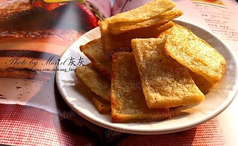 土豆咸酥脆饼的做法