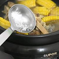 夏季长个高-牛骨响螺玉米汤的做法图解5
