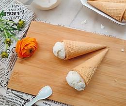 香草冰淇淋(无蛋无冰碴)