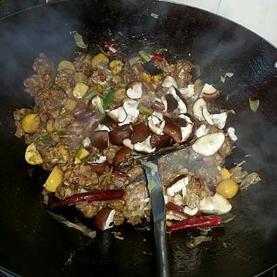 干锅鸭肉的做法 步骤9