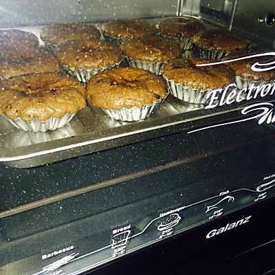 爆浆花生巧克力绵绵蛋糕的做法 步骤8