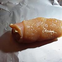 芝香鸡胸卷_超嫩的做法图解4
