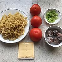 牛肉丸番茄意面的做法图解1