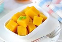 芒果果冻 宝宝辅食食谱的做法