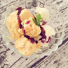 自制冰淇淋(蔓越莓)