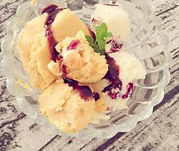自制冰淇淋(蔓越莓)的做法