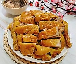 福气年夜菜丨唇齿留香的葱香酱油鸡的做法