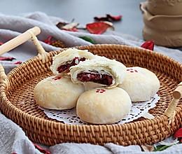 #听见美食的声音# 玫瑰鲜花饼的做法