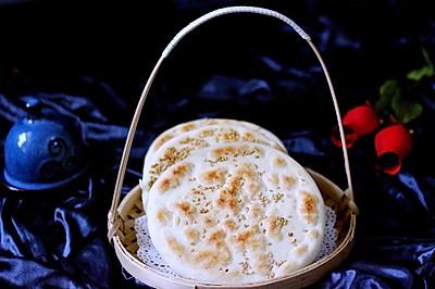 芝麻碱饼#蒸派or烤派#