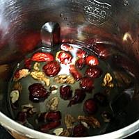 红枣核桃米糊的做法图解3