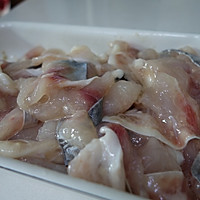 水煮鱼片的做法图解3