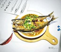 炖个鲅鱼吃吧的做法