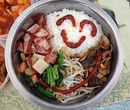 韩式拌饭(中韩合并款)的做法