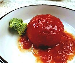 网红餐厅招牌菜 | 西红柿虾滑团的做法