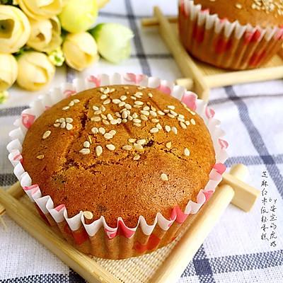 芝麻红枣纸杯蛋糕