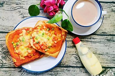 快手早餐什锦芝士三明治