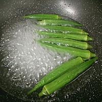 快手菜――美味又营养的鸡蛋秋葵的做法图解2