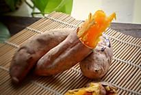 #一人一道拿手菜#烤红薯的做法