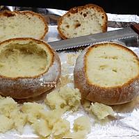 提高免疫,面包香菇浓汤#柏翠辅食节-春节辅食#的做法图解14