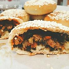 紫菜光饼,也叫福州肉烧