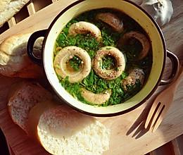 蒜香蘑菇__孤独的美食家的做法
