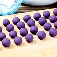 """茄汁紫薯球#""""宴""""遇灵山,拈花品素#的做法图解5"""