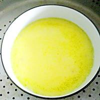 橄露Gallo经典特级初榨橄榄油试用之【红肠蒸蛋】的做法图解3