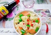 #名厨汁味,圆中秋美味#青椒炒花菜的做法