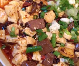 麻辣鸭血豆腐的做法