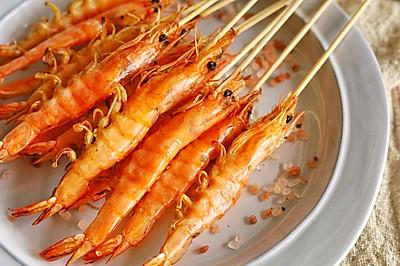 意式海盐炙烤大虾