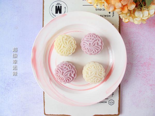 奶黄馅冰皮月饼 (香甜不腻的自制奶黄馅)的做法