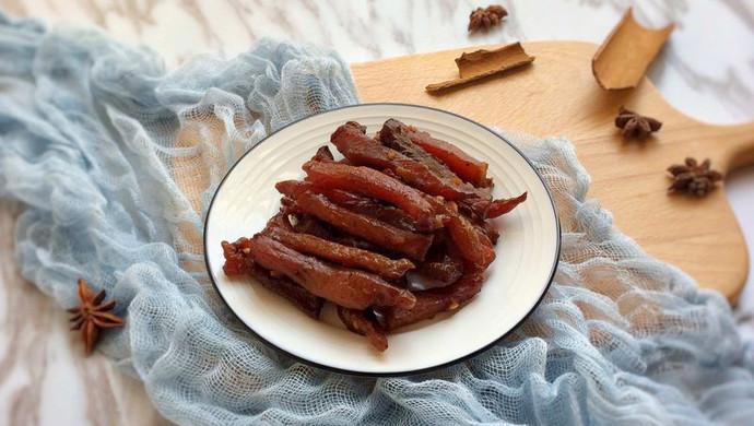 原味猪肉干 干香有嚼劲的小窍门