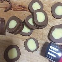 黄油可可曲奇饼干# 百吉福芝士力量#的做法图解10
