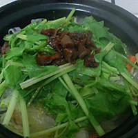健康营养斋菜煲的做法图解4