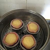 轻乳酪淡奶油蒸蛋糕的做法图解4