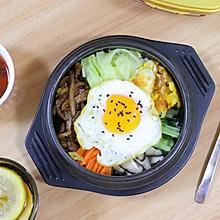韩式石锅拌饭,简单素材拼接的美味!