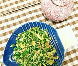 韭菜炒鹅蛋的做法