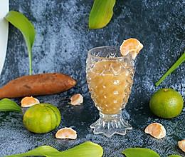 #轻食系王者#雪莲果蜜橘饮的做法