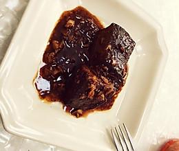 蒜香黑椒煎猪肝的做法