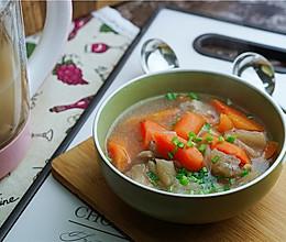 #精品菜谱挑战赛#牛筋双蔬汤的做法