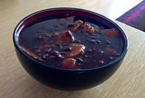 紫米红豆番薯糖水的做法