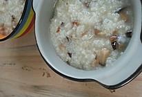 香菇淡菜粥的做法