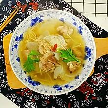 简易版羊肉萝卜汤#KitchenAid的美食故事#