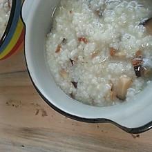 香菇淡菜粥
