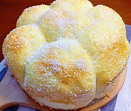 #换着花样吃早餐#蒸出来的松软大面包的做法