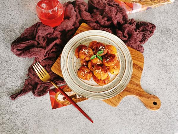 #一人一道拿手菜#南乳黑椒土豆的做法