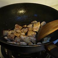 干豇豆红烧肉的做法图解3