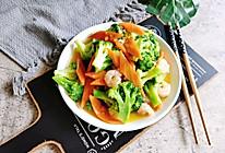 #巨下饭的家常菜#西兰花炒虾仁的做法
