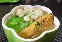 鲜蘑蛋饺汤的做法